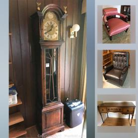 MaxSold Auction: This online auction features framed artwork, Royal Doulton, Bundy Resonite clarinet, needlepoints, vintage cameras and accessories, outdoor items and tools, Winterhalder and Holfmeier mantle clock, antique furniture and much more!