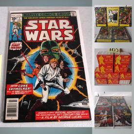 MaxSold Auction: This online auction features comics such as X-Men, Ultimate Spider-Man, Marvel, and Superman, vintage magazines, vintage Topps hockey cards, vintage baseball cards, hockey wax boxes and much more!