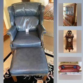 MaxSold Auction: This online auction features chiming wall clocks, Steiffel lamps, oak server, Ethan Allen furniture, rugs, patio furniture, gas BBQ grill, home and garden tools and much more!