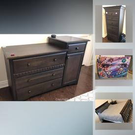 MaxSold Auction: This online auction features Lazare design art, Bohemia crystal vase, original abstract art, fire pit, area rugs, Yamaha guitar, lawnmower, Morigeau Lepine wood dresser, IKEA desks, plasma car ride-on toy and much more!