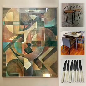 MaxSold Auction: This online auction features furniture, decorative vases, dishware and silverware, and much more!