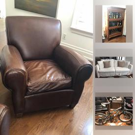 MaxSold Auction: This online auction features pottery barn furniture, barristers bookcase, convertible scooter, youth mountain bike, Denon home theater system, Osmo iPad game system, propane fire pit, youth clothing and much more!