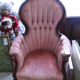 MaxSold Auction: One would imagine that the Aylmer Downsizing Online Auction is fit for a princess - featuring two pink firesides chairs, Royal Albert poinsettia china, Royal Doulton figurines, and all those quality household contents which MaxSold cleared out in under two weeks.