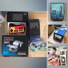 MaxSold Auction: This online auction features Cordless vacuum, black & decker trimmer, vintage gamin gear, new in open boxes such as Madela pump, small kitchen appliances, professional skateboarding shoes, MacBook, rechargeable grooming kit, gaming gear, fitness gear, home security system and much, more!