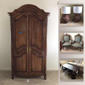 MaxSold Auction: This online auction features Sleep number bed, Lanai furniture, Teak furniture, TV, Apple TV, framed wall art, Porsgrund Norway China, Weber grill, rolling toolbox, hand tools and much more!