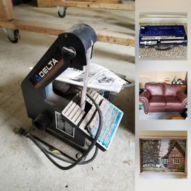 MaxSold Auction: This online auction features Hockey memorabilia, kids books, toys, original framed art, area rugs, four-poster bed, native mask, costume jewelry, beaver hat, outboard motor, yard trimmers, bench tools, gas generator, refrigerator, tires, upright Freezer, skis and much more!