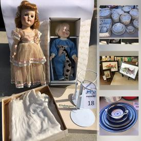MaxSold Auction: This online auction features art pottery, original art by Long Nguyen, toys, fishing gear, board games, fitness items, tools, jewelry, beer mugs, Minton of England China and much more!