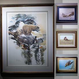 MaxSold Auction: This online auction features limited edition prints by artists such as Robert Bateman, Lawrence Dyer, Oswald Schenk, Anne Cote, John Seerey, Trisha Romance, Mia Lane, Jim Daly, Christine Marshall, Bev Doolittle, and Authentic Inuit carvings and much more!