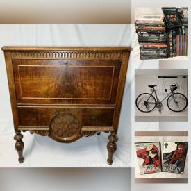MaxSold Auction: This online auction features NIB Video Game System & Games, NIB Household Electronics, Antique Toys, Skateboarding Gear, Tools, Bike, Camping Gear, Scuba Gear, Jewelry, Coins, Comics and much more!