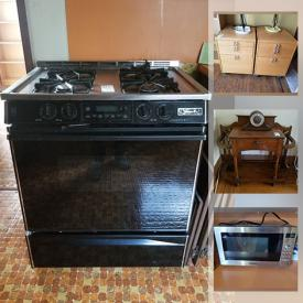 MaxSold Auction: This online auction features Architect models, power tools, gas stove, stackable washer & dryer, wood chipper, small kitchen appliances, gas fireplace, art pottery, antique umbrella stand, cameras and much more!