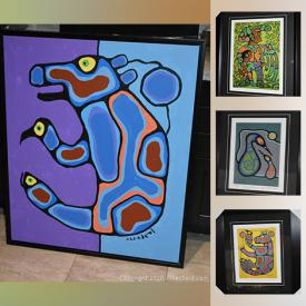 MaxSold Auction: This online auction features artwork from Norval Morriseau, Tom Thomson and more!