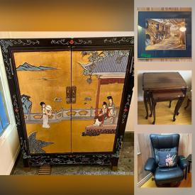 MaxSold Auction: This online auction features pyrex, sectional couch, vintage furniture, antique furniture, Keurig coffee machine, outdoor patio furniture, silver-plated, Royal Daulton's, framed art, brass decor and much more.