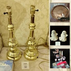 MaxSold Auction: This online auction features vintage toys, Lenox, Holiday decorations, Yankee memorabilia, ladies evening gowns and shoes and much more.