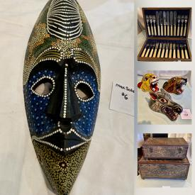 MaxSold Auction: This online auction features Small Kitchen Appliances, Vintage Lamps, Inuit Art, Medina Paintings, Cherished Teddies, Tobi Mugs, Jewelry, Vintage Toys, Vintage Comic Books and much more!