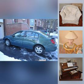 MaxSold Auction: This online auction features a car, Royal Doultons, electronics, gardening tools and much more!
