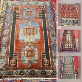 MaxSold Auction: This online auction features Persian Rugs such as Tabriz, Hamedan Lillian, Kashan, Joshegan, Sirjan and much more!