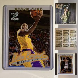 MaxSold Auction: This online auction features coins and bank notes from different countries, basketball cards, football cards, hockey cards, baseball cards, LPs and much more!