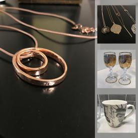 MaxSold Auction: This online auction features jewelry, climbing shoes, baby clothes, art supplies, small kitchen appliances, leather couch and much more!