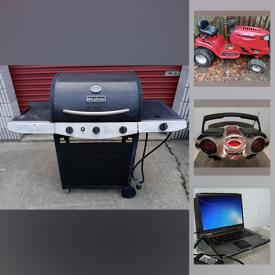 MaxSold Auction: This online auction features commercial freezer/refridgerator, riding mowers, printers, floor buffer, commercial coffee maker, bicycles, arm saw and much more!