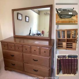 MaxSold Auction: This online auction features Teak wall units, power tools, souvenir spoons, vintage train set, camping gear, collector plates, watches, jewelry, Cuckoo clock, Dept 56 collectibles, Swarovski crystal miniatures, Cherished Teddies, lego sets, playmobile sets and much more!
