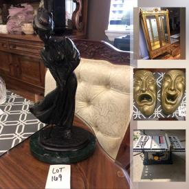 MaxSold Auction: This online auction framed wall art, porcelain dolls, CZ rings, Japanese ink block prints, jewelry, stamps, refrigerator, recessed troffer lights, jewelry, power tools, baseball cards, propane fireplace, toys, vintage cast iron bank, NIB Cherished Teddies and much more!     Collectibles