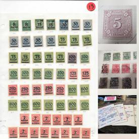 MaxSold Auction: This online auction features stamps such as German and Saarland, Bohemia, Moldavia, Egyptian, Gambian, African, Canadian, British, China, South America, British Colonies, American, Penny Red and many more, includes vintage postcards, stamp books and much more.