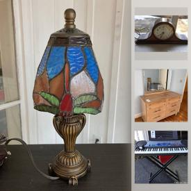MaxSold Auction: This online auction features vintage dresser, milk glass, office supplies, garden supplies, keyboard, depression glass, fish tanks, vintage Fostoria Americana, Hummel figurines, patio furniture and much more!