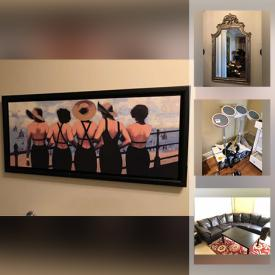MaxSold Auction: This online auction features furniture, lamps, area rugs, art, electronics, electric exercise equipment, figurines, faux flowers, Royal Albert, silver jewelry, costume jewelry, Rockband, camping equipment, skiing equipment and much more.