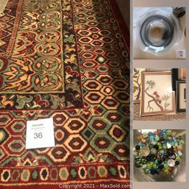 MaxSold Auction: This online auction features Rae Dunn, vintage Barbie, furniture, pyrex, marbles and vintage toys, purses, Vera Bradley and much more.