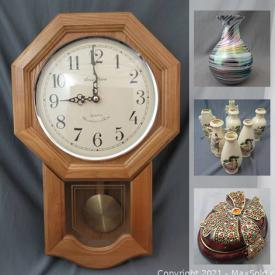 MaxSold Auction: This online auction features Geodes, signed artwork, power tools, vintage toys and much more.