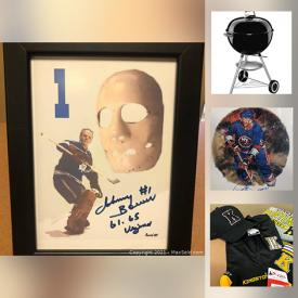 MaxSold Auction: This online auction features Benefit Auction with donated items such as Ride Along Opportunity, Bike, Gift Certificates, Karen Gray Pottery Plaques, Gift Baskets, Autographed Hockey Prints, Kingston Frontenacs Gear, Celia Sage Oil Painting, Art Glass and much more!
