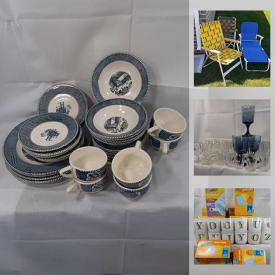 MaxSold Auction: This online auction features a Canon Pro 100 Wide format printer, photo equipment, picture frames, books, glassware, servingware, home items, trays, end table, cameras, sewing machines, walking canes, matted prints, mugs, electronics, MCM dollhouse and much more!