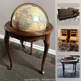 MaxSold Auction: This online auction features Coca-Cola and Breweriana collectibles, office supplies, vintage telephone tables, baby and kids clothes, toys, games, pop-up bed, Arts and craft supplies, tabletop billiards, books, magazines, pez, Smart TV and much more!