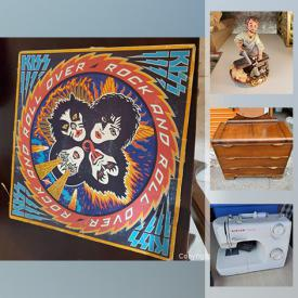 MaxSold Auction: This online auction features Hand Tools, Sports Cards, Toby Style Jug, Fishing Gear, Jewelry, Luggage, Brass Wall Hanging, Power Tools, Coins, and Much, Much, More!!