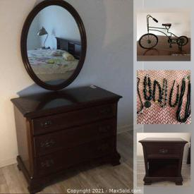 MaxSold Auction: This online auction features costume jewelry, Area Rugs, Gibbard Bedroom Furniture, Sun Light Lamp, Garden Decor, Fashion Belts, Collectible Plates, Small Kitchen Appliances, Art Pottery, Chrome Storage Shelves, Cranberry Glass, Composters and much more!