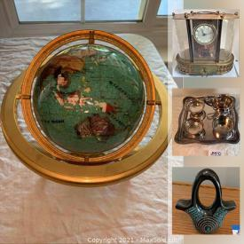 MaxSold Auction: This online auction features sterling silver, art glass, power tools, sports equipment, signed artwork, Lladro, statues, figures, pottery, Swarovski crystal, Waterford crystal, furniture and much more.