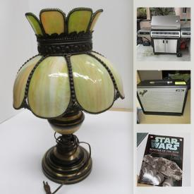 MaxSold Auction: This online auction features tools, outerwear, Waders, NIB lightsaber, board games, video games systems & games, freezer, refrigerator, BBQ grill, action figures and much more!
