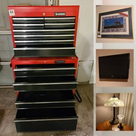 MaxSold Auction: This online auction features Hockey memorabilia, Wall art, display cabinet, leather sofa, furniture, ceramics, yard tools, fencing, golf clubs, memorabilia, sporting goods, bar fridge, BBQ, coca-cola collectibles and much more.