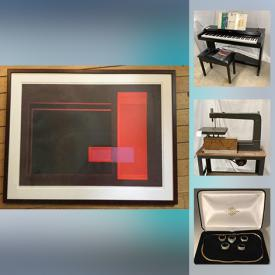 MaxSold Auction: This online auction features Lladro Figurines, Trinket Boxes, Costume Jewelry, Asian Style Buffet, Framed Art Work, Sports Collectibles, Bobble Heads, Stamps, Corgi Die Cast Replicas, Sleigh Bed, TV, Lawn Tractor, Digital Pianos, Board Games, Kayak and much more!