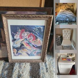 MaxSold Auction: This online auction features vintage home appliances, ceramics, furniture, artwork, books and much more.
