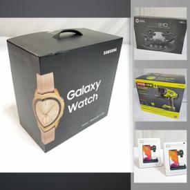 MaxSold Auction: This online auction features new in open box items such as computer gear, power tools, vacuum, drone, smart home products, massagers, Mickey Mouse watches, 3D Printing Pen and much more!!
