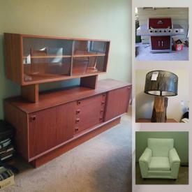 MaxSold Auction: This online auction features art pottery, costume jewelry, crafting supplies, fishing gear, electric La Z Boy office supplies, mini-fridge, dream catchers, Star Wars toys, masks, MCM Teak furniture, lift chair, TV, small kitchen appliances, Bbq and much more!
