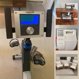 MaxSold Auction: This online auction features Weber BBQ, iRobot Roomba, Honeywell Products, Nook, Furniture, Bamboo Furniture, Pocket watches, Fitness Equipment, Electronics, Records, Fine china, Crystal, Area rugs and much more.