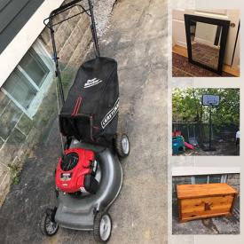 MaxSold Auction: This online auction features balance bikes, tool chest, step stool, dresser, tools, shelf, sink, yard tools, shower seat, roofing jacks, fire bowl, wagon, Ikea Hemnes dresser, outdoor toys, blender, soda stream, adult bikes, lawn chairs, electronics, Muskoka chairs and much more!