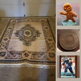 MaxSold Auction: This online auction features coins including Commemorative Mints, uncirculated and vintage, Wade figures, Pro Hockey Rookie cards, Wedgwood mugs, Upper Deck Hockey jumbo packs, Hudson's bay blanket, scented candles, Ikea spice rack, Novelty mini teapots, die-cast vehicles, Donruss baseball packs, Barbie dolls, Funko pop figs, Sandicast dogs and much more!