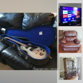 MaxSold Auction: This online auction features Broyhill sofa, Lladro statues, Swarovski figures, Waterford crystal, stereo components, TVs, area rugs, small kitchen appliances, lawnmower and much more!