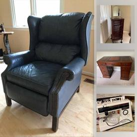 MaxSold Auction: This online auction features executive desk, jewelry cabinet, office supplies, Canon printer, vintage sewing machine, vintage ladies hats, TV, power tools, fireplace/heater, yard tools, Dell server, heaters, shredders, bikes and much more!