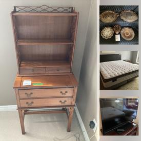 MaxSold Auction: This online auction features Gibbard bedroom furniture, LCD TV, soapstone art, small kitchen appliances, Portmeirion China, Waterford crystal, depression glass, Royal Doulton figurines, Art pottery, costume jewelry, coins, Stamps and much more!