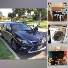 MaxSold Auction: This online auction features Lexus, washer & dryer, sectional sofa, beauty appliances, area rugs, keyboard, printers, toys, outdoor furniture, dollhouse, power & hand tools, small kitchen appliances, Nordictrack, pet supplies, golf clubs, steelers collectibles, art glass and much more!