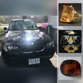 MaxSold Auction: This online auction features .925 Sterling silver jewelry, Necklaces, Watches, Vintage purses, Mickey Mouse Collectibles, BMW X3, Platinum Diamond Ring and much more